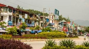 Downtown Dien Bien Phu