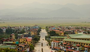 View of Dien Bien Phu