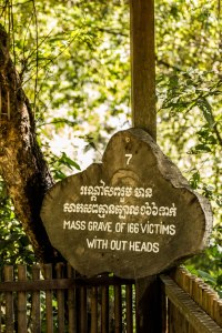 Mass grave of 166 victims without heads