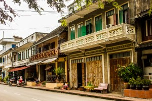 Luang Prabang typical street