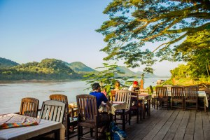 More drinks by the Mekong