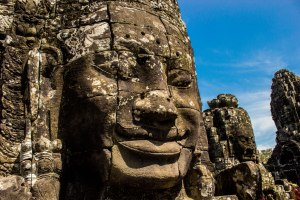 Faces faces everywhere! Bayon.