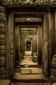 Doors and doors and doors at Preah Khan.