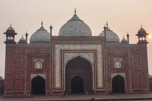 The Taj Mahal Mosque.