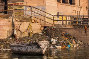 The clean clean Ganges.