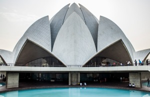 Lotus Temple for the Baha'i Faith.