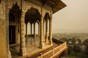 Looking over Agra.