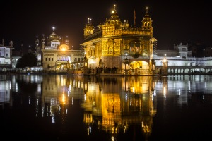 The Golden Temple in all its glory.