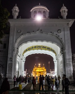 Entrance to the Golden Temple.
