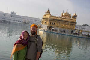 The Golden Temple by day.