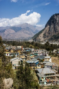 A village we passed through on the way to Vashisht.