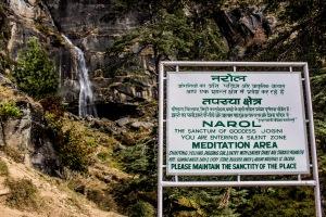 Jogni Falls sacred area.