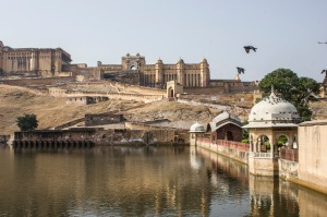 The Amer Fort from below.